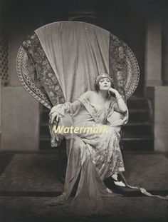 Norma Talmadge, 1924. Photographed by James Abbe - Photography print
