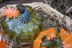 Choose from more than glass pumpkins, apples, or other harvest-themed items for sale in the Museum's Courtyard and throughout the GlassMarket. Corning Museum Of Glass, Glass Pumpkins, Stained Glass, Harvest, Glass Art, Mosaic, Seasons, Ceramics, Autumn