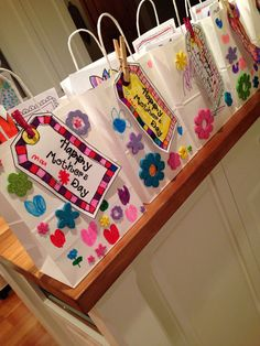 Mother's Day paper bags