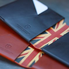 Bond & Knight are independent British leather designers specializing in handmade, bespoke wallets. Every wallet is completely individual—from the naturally tanned Italian leathers to the artists they collaborate with.