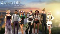 The virtual world of AVAKIN LIFE: an amazing experience where you can meet, chat and get dressed! Also, Decorate and design your home and visit wonderful and heavenly places! Simulation and role-play with countless possibilities! Avakin Life Hack, Life Hacks, Create Your Avatar, Primary Games, Life Cheats, Daily Rewards, Channel, Different Dresses, Hack Online
