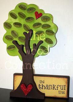@Jenn Quesenberry Crookston @Kristin Taylor...another way to do the Thankful Tree!