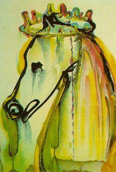 Salvador Dali — Caligula's Horse (Dali's Horses), 1971, Salvador...
