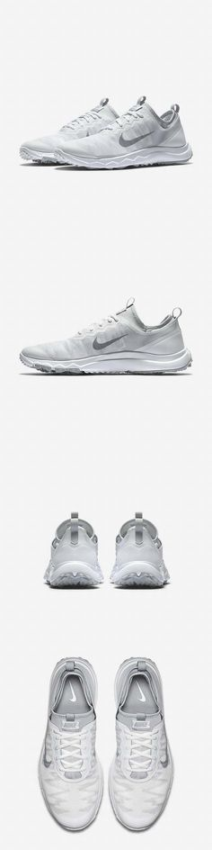 Golf Shoes 181147: New! Nike Fi Bermuda Pro Golf Shoes White Wolf Grey 776089-100 Women S Size -> BUY IT NOW ONLY: $49.95 on eBay!