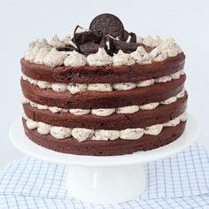 bakken met Oreo's Oreo Cake Pops, Chocolate Oreo Cake, Cupcakes, Cake Cookies, Pie Cake, No Bake Cake, Baking Cups, Gluten Free Chocolate, Health Desserts
