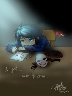 shh.. just let him draw. bloody painter is so cute!