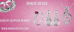 Dhruv silver is a well known #Jewelry #Supplier in #India and now provide online facility for buy #sterling #silver jewelry, silver #beads, silver #clasp and silver #toggles at wholesale prices.
