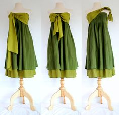 Hey, I found this really awesome Etsy listing at https://www.etsy.com/listing/108091977/forest-green-dress-short-bridesmaid