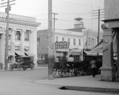 1920s b and castro(mission st) hayward looking south -east'
