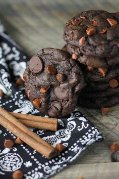 Mexican Hot Chocolate Cookies - Baked in AZ