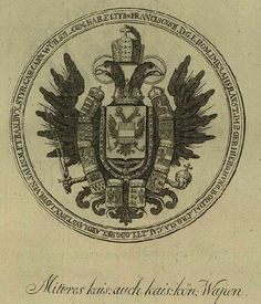 Holy Roman Empire & Empire of Austria, medium coat of arms, Kingdom Of Bohemia, Kingdom Of Italy, Imperial Eagle, Austrian Empire, Double Header, Archduke, Holy Roman Empire, Jackdaw, Early Middle Ages