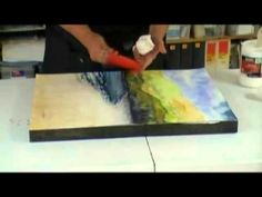 Learn how to mount a watercolor painting on a cradled art board! Award winning maritime artist Annie Strack demonstrates how to use cradled art boards to make a watercolor triptych. The result is a watercolor painting that can be hung and displayed without the use of frames, glass, or mats!