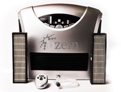 A portable air purifier and ozone generator.