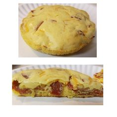 Mini Pie Pans, Mini Pies, Turkey Pepperoni, Dukan Diet, Powdered Milk, 2 Eggs, Golden Brown, Other Recipes, Cheddar Cheese