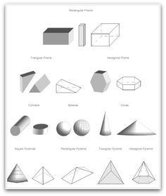 Several collections of 2D, 3D and other dimension geometric shapes to print. Basic, solid, artistic and fun designs to cut and paste. Use as free geometric colouring pages, fold 3D paper models, polyhedra / geometrical solids, create patterns and sequences or use them for your favourite crafts.