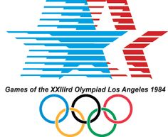 Olympics, Los Angeles 1984 - This was fun!  Watched basketball, synchronized swimming,  and track and field finals!