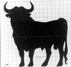 The man behind Spain's iconic bull European Day Of Languages, Bull Images, Ferdinand The Bulls, Mystery Parties, National Museum, Pyrography, Collage, Moose Art, 1