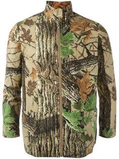 Walter Van Beirendonck Vintage camouflage jacket