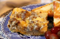 Egg, Biscuit and Sausage Gravy Breakfast Casserole
