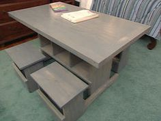 How To Build Child-sized Table And Stools