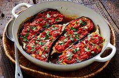Imam Bayaldi ~ Lebanese Vegetarian Recipe ~ Eggplants