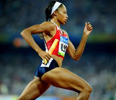 Allyson Felix  USA -- Track and Field  Despite the fact that she has won the 200m in the World Championships three consecutive times, Felix will be just 26 years old next summer. How she does attempting a 200-400 double at this summer's World Championships will be a good indicator for London.  #London2012 #Olympics #2012Olympics