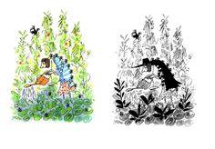 Ant Garden - Leo Broadley #ants #childrensbook #illustration #kidlitart #leobroadley