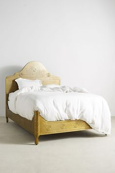 Hand-Embossed Bed | Anthropologie