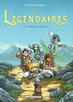 Lulu lit des livres: Les légendaires Tome 1 de Patrick Sobral