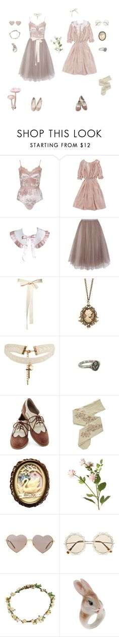 """Dusty pink"" by cinnamontea ❤ liked on Polyvore featuring Topshop, Nina Ricci, Coast, ASOS, Pyrrha, Look From London, ZOHARA, OKA, Wildfox and River Island"