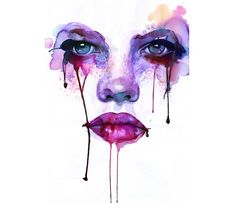 watercolor-paintings by Marion Bolognesi