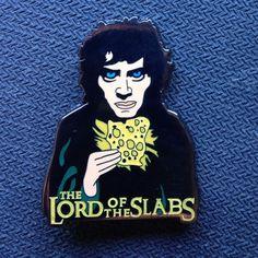 Lord Of The Slabs Dab Pin | ERRL Dab Marijuana Hat Pin | Repined By 5280mosli.com | Organic Cannabis College | High Quality Shatter | Top Shelf Marijuana