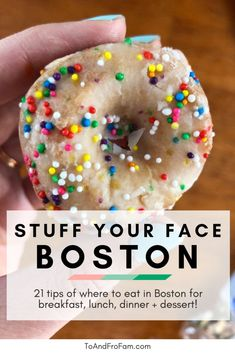 Wondering where to eat in Boston? This list of the best restaurants in Boston shares the best spots for breakfast, dinner and all the food in between. Breakfast In Boston, Breakfast Lunch Dinner, Dessert For Dinner, Best Breakfast, Best Dessert In Boston, Flour Bakery, Bakery Cafe, Boston Vacation, Boston Travel