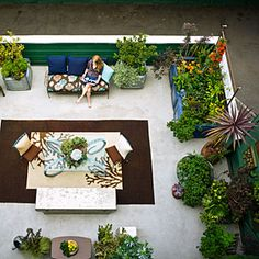 23 small yard design solutions   500-square-foot urban oasis   Sunset.com