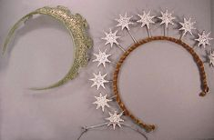 Two Costume Tiaras   1920s