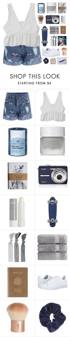 """「13.」"" by moonbeam-s ❤ liked on Polyvore featuring Chesapeake Bay Candle, Omorovicza, Kodak, Korres, Emi-Jay, Christy, Royce Leather, adidas, H&M and Miss Selfridge"