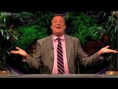WATCH: Here's what happens when hydrophobic sand is dropped in water.  Stephen Fry is hooked.