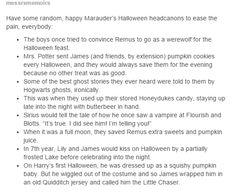 The Marauders Halloween