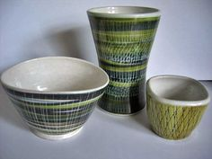 1950s Rye Pottery from a lovely website www.thegallerybc.co.uk