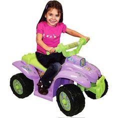Disney Fairies Tinkerbell Power Wheels Quad Ride On Power Wheels Quad, Tinkerbell Toys, Disney Faries, Atv Wheels, 4 Wheelers, Ride On Toys, Tricycle, Little Ones, Kids Toys