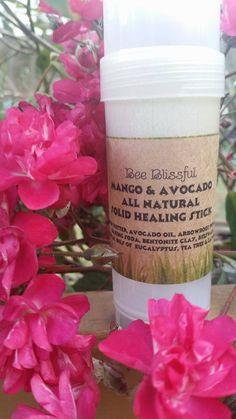 $9.99 ORGANIC HEALING STICK Handmade Organic Salve by BeeBlissfulBeauty
