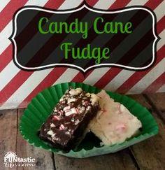 Candy Cane Fudge Rec