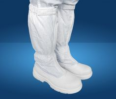 """Antistatic shoes nose clean room iron, iron soles turtleneck Product description Ingredient: soft canvas  Size: 37-42 or customized  Color: white  Place of origin: Viet Nam  MOQ: 1container 20"""" OEM/ODM: Available"""