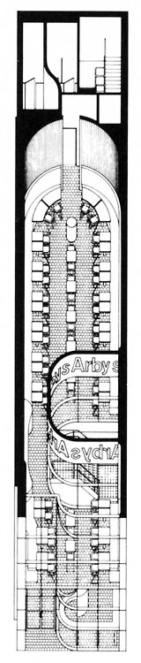 Archive of Affinities: Stanley Tigerman Arby's Chicago 1975