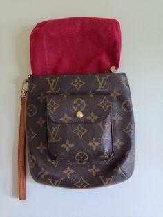 Louis Vuitton Classic Monogram Wristlet $322