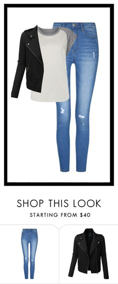 """""""Geen titel #33"""" by xlindytjeeex ❤ liked on Polyvore featuring LE3NO"""