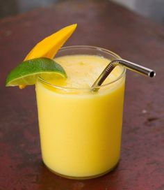 Mango Colada by thekitchn: Make it easy with frozen mango and you can keep it light with light coconut milk or coconut water.