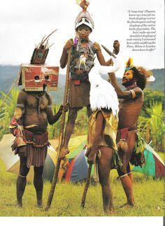 tim walker papua new guinea - Google Search