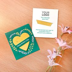 Show appreciation and brand values this Mother's Day with these plantable giveaways that give and grow wildflowers. Mother's Day Promotion, Feeling Appreciated, Seed Paper, Green Business, Eco Friendly Paper, Flower Shape, Memorable Gifts, Cute Cards, Happy Mothers Day