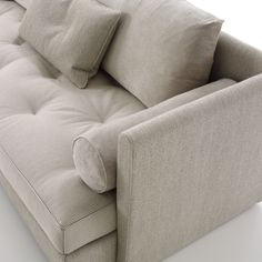 NOMADE Sofas - An esthetic variation of the NOMADE model, NOMADE 2 is intended to be more urban, Parisian even in the ''Rive Gauche'' spirit Ligne Roset Sofa, Contemporary Sofa, Sofa Furniture, Living Spaces, Living Room, Upholstery, Couch, Design, Home Decor